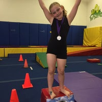 Photo taken at Scottsdale Gymnastics by Mike H. on 5/14/2015
