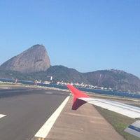Photo taken at Rio de Janeiro Santos Dumont Airport (SDU) by Magali on 9/8/2013