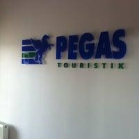 Photo taken at Pegas Touristik by Anna on 4/28/2014