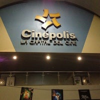 Photo taken at Cinépolis by Pam on 2/9/2013