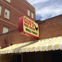 Photo taken at Gus's World Famous Hot & Spicy Fried Chicken by Forbes H. on 5/25/2013