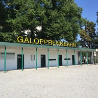 Photo taken at Galopprennbahn München Riem by Sebastian B. on 8/9/2015