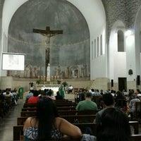 Photo taken at Paróquia Nossa Senhora da Paz by Luiz Augusto A. on 8/28/2016