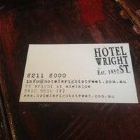 Photo taken at Hotel Wright St. by Kelly B. on 3/30/2013