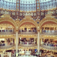 Photo taken at Galeries Lafayette Haussmann by Galina K. on 5/14/2013