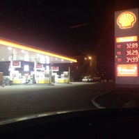 Photo taken at Shell by Andrei K. on 3/4/2015