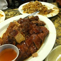 Photo taken at Cafe Noodle Chinese BBQ & Seafood by Jennifer on 10/8/2012