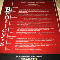 Bentley's encinitas coupons
