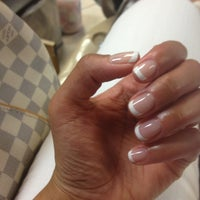 Photo taken at Asian Nails by Corinne on 8/30/2013