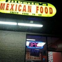 Photo taken at Jilberto's Taco Shop by Anika G. on 10/18/2012