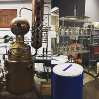 Photo taken at GrandTen Distilling by Donald W. on 2/13/2016