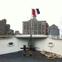 Photo taken at Boston Harbor Cruises by Paul B. on 10/1/2012