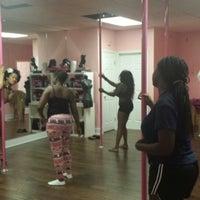 Photo taken at Pink Poles Studio by LA Lynn's on 7/16/2014