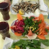 Photo taken at bayram fish restaurant by SGençoğlu on 2/1/2015