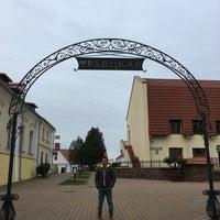 Photo taken at Троицкое предместье / Траецкае прадмесьце by Omer K. on 11/23/2017