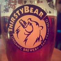 Photo taken at ThirstyBear Brewing Company by Nik F. on 6/9/2013