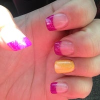 Photo taken at Snow Nails by al c. on 2/21/2013