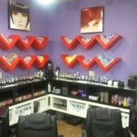 Photo taken at Heaven Salon by Heaven S. on 11/20/2012