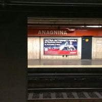 Photo taken at Metro Anagnina (MA) by Seba S. on 2/3/2013