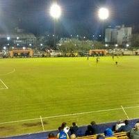 Photo taken at Estadio Don León Kolbowski (Club Atlético Atlanta) by Gustavo M. on 5/9/2015