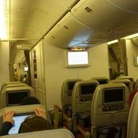 Photo taken at 9W120 BOM-LHR / Jet Airways by Faisal A. on 10/2/2013
