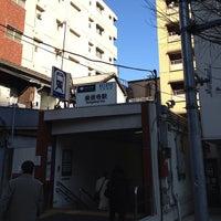 Photo taken at Sengakuji Station by hirowtjp on 12/25/2012