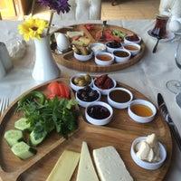 Photo taken at Marina Restaurant Cafe & Bar by Hayriye E. on 5/12/2015