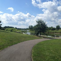 Photo taken at Van Patten Woods Forest Preserve by Karina on 8/10/2013