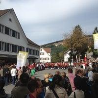 Photo taken at Pfarrkirche Wolfurt by Roland G. on 10/14/2012