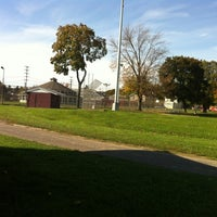 Photo taken at CFJ Park by Bryan S. on 10/17/2012