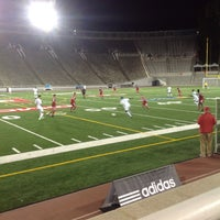 Photo taken at Percival Molson Memorial Stadium by MONTREALiN on 9/6/2013