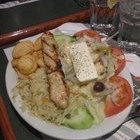 Photo taken at Marathon Souvlaki Restaurant by MONTREALiN on 12/7/2012