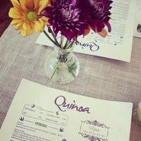 Foto scattata a Quinoa Restaurante da Regina F. il 1/3/2013