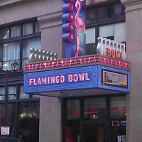 Photo taken at Flamingo Bowl by Darryl R. on 10/27/2012