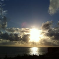 Photo taken at Farol do Cabo Branco by Alisson A. on 12/31/2012