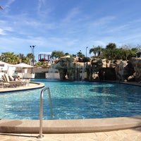 Photo taken at Marriott World Center Pool by Dana on 3/13/2013