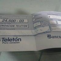 Photo taken at Banco de Chile by Ali P. on 12/2/2012