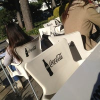 Photo taken at Cafeteria - Facultat de Dret UB by Adriana B. on 1/28/2013