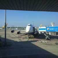 Photo taken at Gate 63 by kolich on 7/19/2013