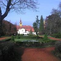 Photo taken at Zámecká zahrada Chrast by Vladimír N. on 11/24/2012