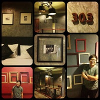 Photo taken at After Glow Hostel by Puchong S. on 7/23/2013