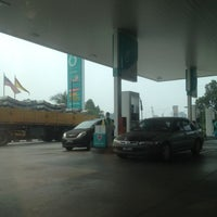 Photo taken at PETRONAS Station by Ho on 6/25/2013