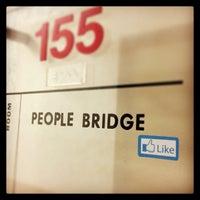 Photo taken at People Bridge by Dave K. on 2/15/2013