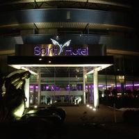 Photo taken at Hotel Spirit Thermal Spa by Nathalie on 2/27/2013