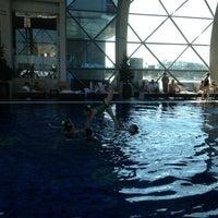 Photo taken at Hotel Spirit Thermal Spa by Nathalie on 3/4/2013