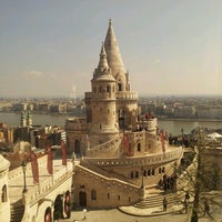 Photo taken at Fisherman's Bastion by Travis H. on 4/15/2013