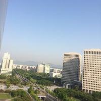 Photo taken at Toyoko Inn Daejeon by YongJin J. on 5/18/2014
