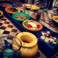 Photo taken at La Sqala: Café Maure by Sofia L. on 6/15/2013