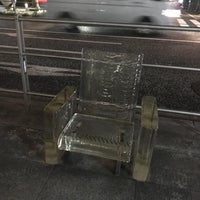 Photo taken at 「雨に消える椅子」 -Chair disappears in the rain- by Naosuke N. on 6/25/2017