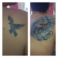 Photo taken at Yasin ALICI Tattoo ART Studio by Yasin Alıcı on 8/13/2013